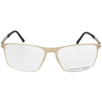 Porsche Design P8256 B Square | Matte Light Gold| Eyeglass Frames