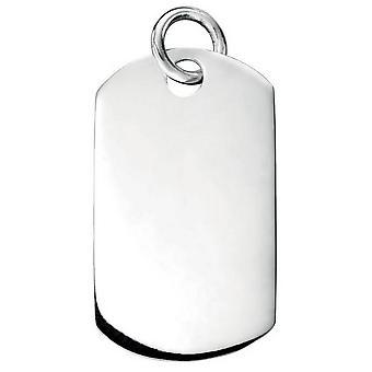 Débuts, pendentif Dogtag - Silver