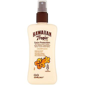 Hawaiian Tropic beskyttende lotion spray Spf8 200 ml