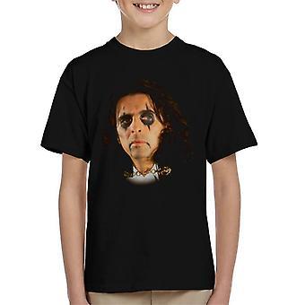 TV kertaa Alice Cooperin Rock laulaja Lasten t-paita