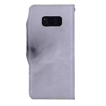 Wallet Case marmer-Samsung Galaxy S8 +!