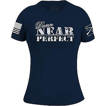 Grunt Style Women's Damn Near Perfect Crewneck T-Shirt - Midnight Navy