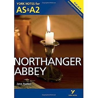 York anteckningar AS / A2 Northanger Abbey (York Anteckningar Avancerad)