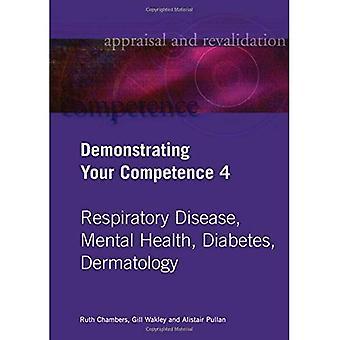 Demonstrere din kompetanse: v. 4: luftveissykdom, Mental helse, Diabetes, Dermatologi v. 4 (vurdering...