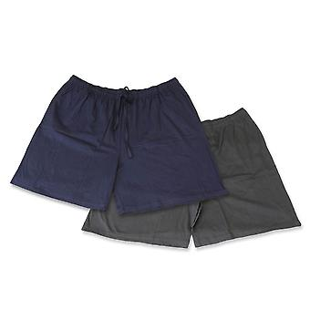 Espionage Cotton Jersey Shorts Twin Pack