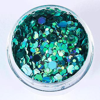 Glitter mix-Delicate sea rainbow