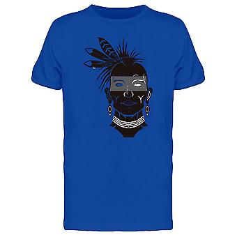 Native Guy Face Tee Men's -Image by Shutterstock