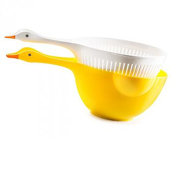 Set of Colk and bowl, 2 L-Duck