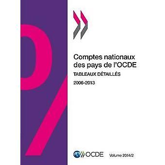 Comptes Nationaux Des Pays de LOcde volym 2014 Numero 2 tablåer Detailles av Oecd