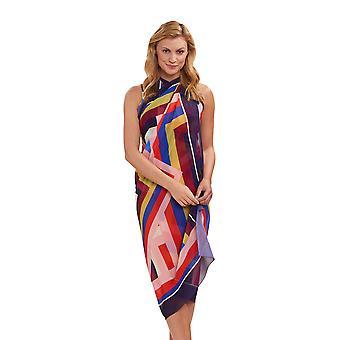 Féraud 3195099-16362 Women's Beach Graphic Multicolor Pareo