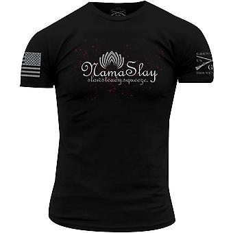 Грант стиль Намаслей футболка-черный