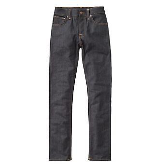 Nudie Jeans Grim Tim Dry Open Navy Jean