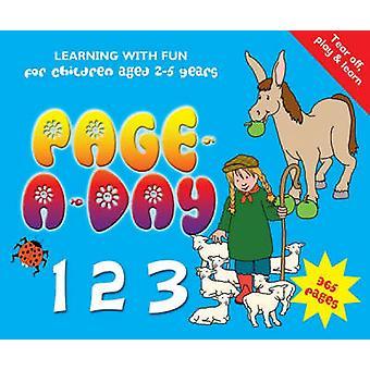 Page-a-Day 123-lärande med nöje för barn i åldrarna 2-5 år-97818