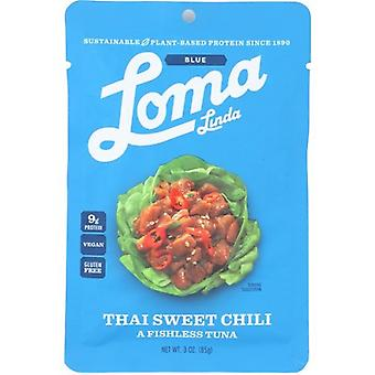 Loma Linda Vegan Plant Based Thai Sweet Chili Fishless Thunfisch
