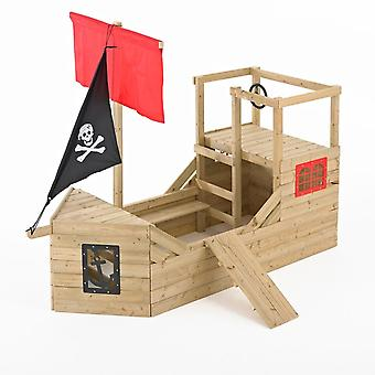 TP Toys Pirate Galleon Wooden Playhouse