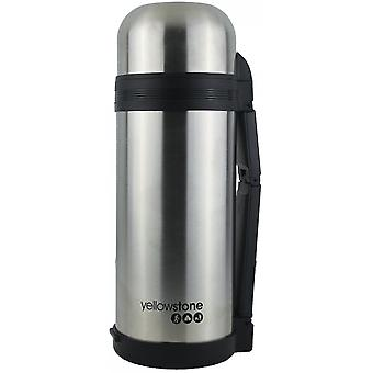 Yellowstone 1.5L Stainless Steel Flask Silver