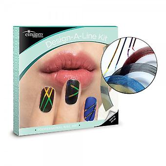Cinapro Nail Creations Design A Line Nail Art Kit