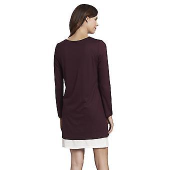 Rösch 1193741-12600 Női's Pure Ruby Red Cotton Nightdress