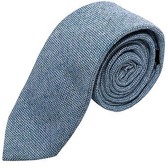 Highland splot denimów niebieski krawat