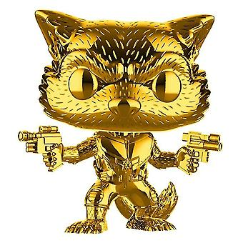 Marvel Studios 10. Ann Rocket Raccoon Gold Chrome US Pop