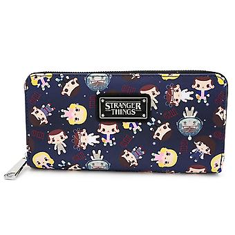 Stranger Things Zip Around Wallet
