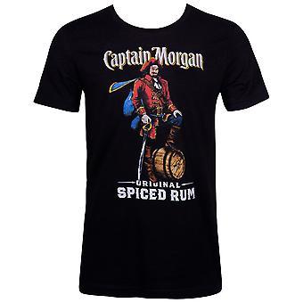 Captain Morgan épicé rhum noir tee shirt
