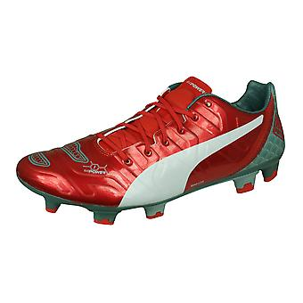 Puma evoPOWER 1.2 Graphic FG Mens Firm Ground Football Boots - Red
