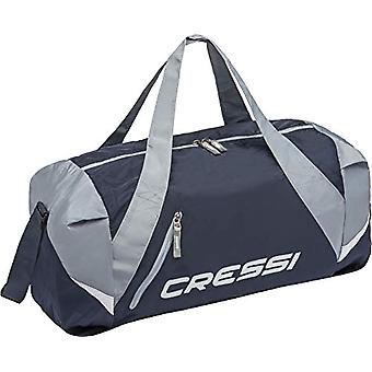 Cressi Palawan Bag - Water-repellent Folding Bag for Sport/Swimming - Blue/Grey One Size