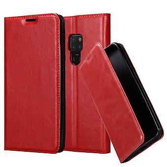 Cadorabo Estuche para Huawei MATE 20 Funda de caso - Funda de teléfono con cierre magnético, función de soporte y compartimiento de la caja de la tarjeta - caso de la caja de la caja de la caja del caso del libro plegable estilo plegable del libro de la caja
