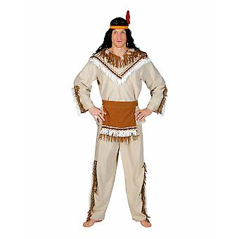 Costume d'homme indien Sioux Winnetou Costume homme chef