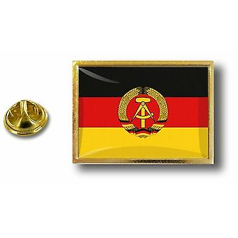 Pine PineS Badge Pin-apos;s Metal Pince Papillon Flag Alemagne L-apos;Est Rda Ddr