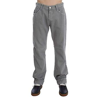 Dolce & Gabbana Gray Cotton Straight Fit Jeans -- SIG3650501