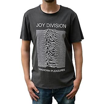 Amplified Joy Division Unknown Pleasures Crew Neck T-Shirt