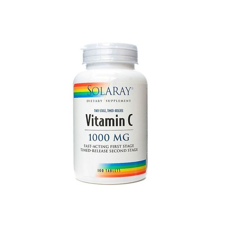 Solaray Vitamin C 1000mg 100 Tablets