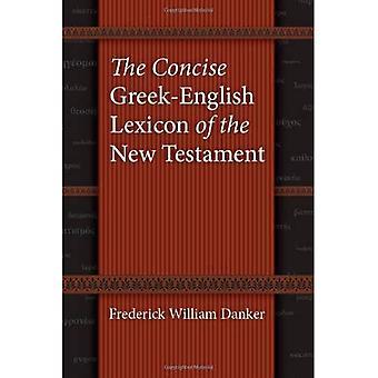 Il lessico greco-inglese conciso del nuovo testamento