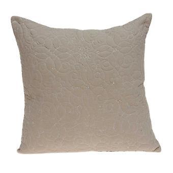 """20"""" x 0.5"""" x 20"""" Hermosa cubierta de almohada de bronceado de transición"""