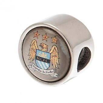 Manchester City pulseira charme Crest