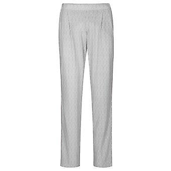 Rösch 1193701-16416 Femei's Pure Off White Oriental Flair Bumbac Pijama Pant