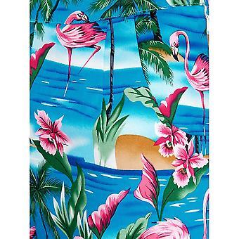 Collectif Vintage Naiset&s Ayana Flamingo Island Shortsit