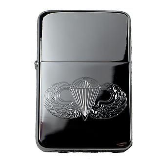 Lighter - us paratrooper (wings only) high polish chrome r1