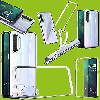 Para o oppo realme x2 silicone caso tpu proteção transparente caso de cobertura de caixa acessórios novo