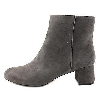 Botas de Adrienne Vittadini Womens Leather Louisa almendra del dedo del pie tobillo moda
