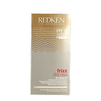 Redken Dismiss Fly Away Frizz Fix FPF 10 (50 Sheets)