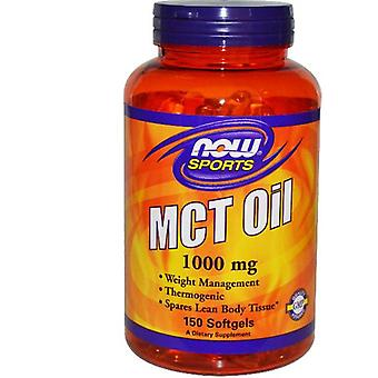 Aceite MCT 1.000 mg (150 Softgels) - Now Foods
