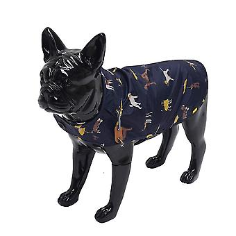 Rosewood Joules Navy Raincoat Large for Dogs