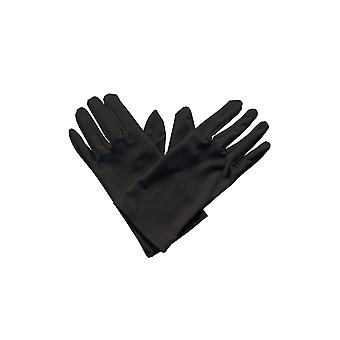 Wicked Costumes Gents Short Gloves - Black