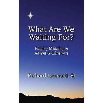 What Are We Waiting For by Leonard & Richard & SJ