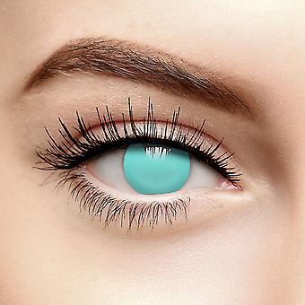 Lenti a contatto blu cieche colorate (giornaliero)