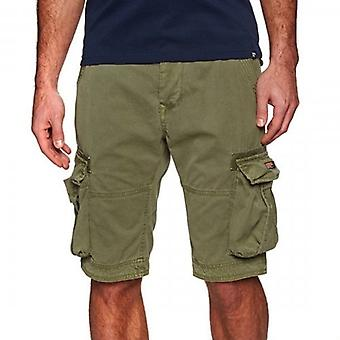 Superdry Core Cargo Lite Shorts Burnt Sage Green ZH4