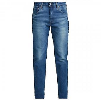 Levi's 511 Orange Overt Adapt Slim Fit Medium Washed Jeans 04511 3895